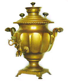 Structure of the samovar