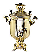 Samovar on wood