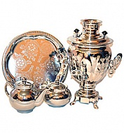 "Samovar 3 l shaped ""Acorn"" in the set"
