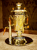 "Exclusive samovar ""Yasnaya Polyana"" with Leo Tolstoy"
