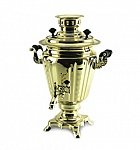 Samovar 3 l shape shot Glass 110V