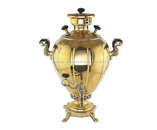 "Samovar shape ""Egg"" Kapyrzin"