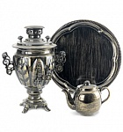"Samovar set in the style of "" Loft"""