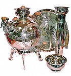 "Samovar in a set of ""three"""